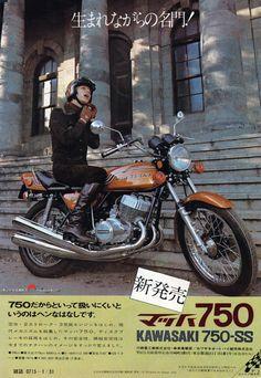 1972 Kawasaki 750 ad