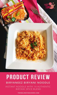 Biryaneez Biryani Noodle is the newest thing in the instant noodle segment. Easy to cook noodle with a blend of 14 Biryani spices ready under just a few mins! Healthy Family Dinners, Family Meals, Easy Meals, Crockpot Recipes, Cooking Recipes, Food Reviews, Biryani, Product Review, Healthy Dinner Recipes