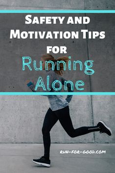 When running by yourself, it's important to take safety precautions and have strategies to beat boredom. Get safety and motivation tips for running alone. Running Routine, Interval Running, Running Workouts, Running Tips, Fitness Workouts, Marathon Motivation, Running Motivation, Lose Weight Running, Benefits Of Running