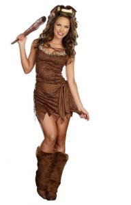 Cavewoman Halloween Costume pretty!  sc 1 st  Pinterest & The 7 best Cavemen u0026 Cavewomen Costumes images on Pinterest ...