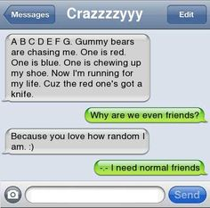 i need friends like this!