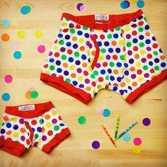 "Do the men in your life have birthdays close together? These matching boxer briefs scream ""Celebration!""."