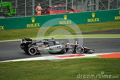 Force India VJM08 F1 Driven By Sergio Pérez At Monza - Download From Over 35 Million High Quality Stock Photos, Images, Vectors. Sign up for FREE today. Image: 58937672