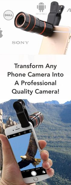 Transform your cell to a professional camera