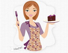 Chocolate Cake Girl Baking And Eat Ing Digital Png Clip Art Cartoon Cupcakes, New Business Ideas, Girl Cakes, Cake Art, Chocolate Cake, Animation, Website, Baking, Digital