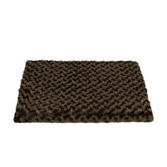 Orthopedic Dog or Cat cat Bed Crate Pad Mat Plush Removable Cover, 23' x 17' Small Brown ** New and awesome cat product awaits you, Read it now  : Cat Beds and Furniture