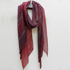 """This  will be one of my next knitting projects. """"Normadology"""" scarf...just so simple yet so powerful in colour"""