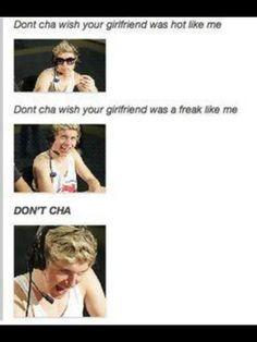 Haha o my gosh niall:)