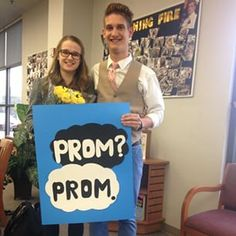 Okay? More like, DEFINITELY YES. | 23 Seriously Adorable Prom Proposals Impossible To Say No To