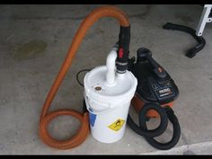 How to make a Dust Collector - YouTube