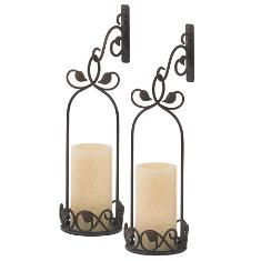 I love these Princess House sconces!