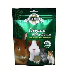 Oxbow BeneTerra Organic Barley Biscuts For Rabbits Chinchillas 265 oz *** Check out the image by visiting the link.(This is an Amazon affiliate link and I receive a commission for the sales)