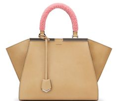 Fendi 3jours Tote with Shearling Handles