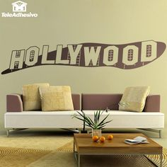 Stickers muraux Signe Hollywood