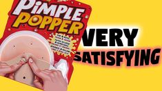 Pimple Popper Very SATISFYING Pimple Popping, Asmr Video, Satisfying Video, Pimples, Videos