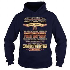 COMMUNICATION-LECTURER T Shirts, Hoodies Sweatshirts. Check price ==► http://store.customtshirts.xyz/go.php?u=https://www.sunfrog.com/LifeStyle/COMMUNICATION-LECTURER-93496295-Navy-Blue-Hoodie.html?41382
