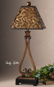Uttermost Bracciano Golden Bronze Table Lamp