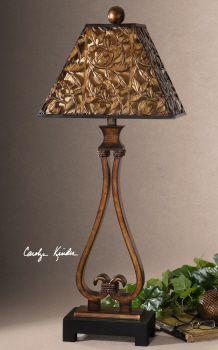 Uttermost Bracciano Golden Bronze Table Lamp