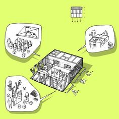 Galería de CEBRA Architects diseñará el Portal de la Información en Dinamarca…