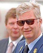 King Philippe of Belgium in 2008 as an Air Force major-general Belgium, Air Force, Pilot, Mens Sunglasses, Major General, Royals, Accounting, Style, People