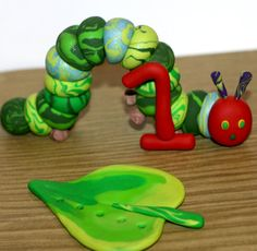 The Very Hungry Caterpillar with 1and Large by JadestoneStudio