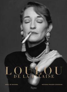 """La couverture de l'ouvrage """"Loulou de la Falaise"""", publié aux éditions Rizzoli NY http://www.vogue.fr/mode/news-mode/diaporama/le-livre-loulou-de-la-falaise/20873"""