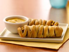 Crescent Mummy Dogs - we make these every year on Halloween.