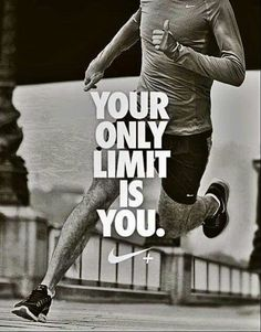 Don't put limits on yourself. ..you can over come anything....