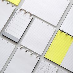 FLEXNOTE UPWARD NOTEBOOK REFILL(フレックスノート アップワード ノートブック リフィル用紙) - DRESSENSE