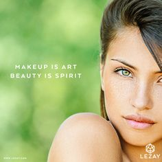 Makeup is art - beauty is spirit! We want that you feel great in your own skin even without any makeup. #nomakeup