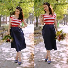 Plus Size Fashin Styles) 29 Years Old, Curvy Models, Sammy Dress, My Outfit, Pinup, Fashion Models, High Waisted Skirt, Cool Style, Romantic Flowers