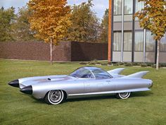 1959 Cadillac Cyclone Concept Car. Yeah, they should have massed produced this car!