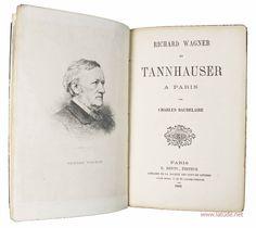 Baudelaire heeft een essay geschreven over Wagner Paris, Books, Montmartre Paris, Libros, Book, Paris France, Book Illustrations, Libri