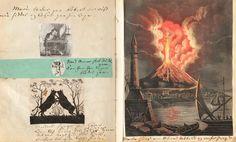 Alcune rare immagini di un manoscritto illustrato di Hans Christian Andersen - Frizzifrizzi