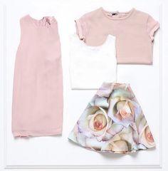 Pink forårs look med blomster mønstre @ Name It #Fisketorvet #copenhagenmall #børnemode
