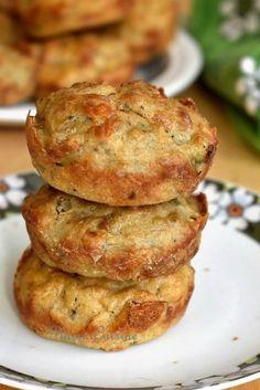 Savory Muffins, Zucchini Muffins, Healthy Muffins, Mini Muffins, Healthy Muffin Recipes, Donut Recipes, Nutella Muffin, Pie Co, Cinnamon Roll Muffins