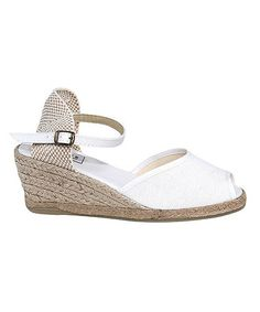 Take a look at this Blanco San Sebastian Espadrille by Spartvs on #zulily today!