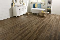 Want a laid back coastal vibe that 39 s gorgeous beach for Coreluxe engineered vinyl plank installation