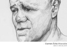 «Miserable» de Carmen Ávila Abril 3 - Abril 25, 2015  www.dasubstanz.com/miserable