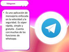 información sobre telegram