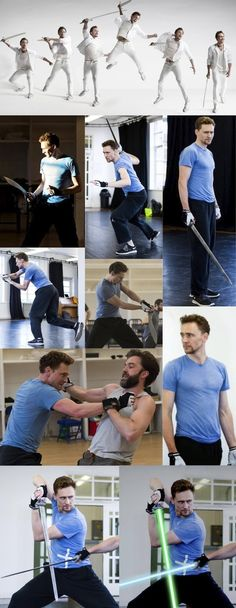 Tom Sword Fighting Is Heaven On Earth | Community Post: This Post Will Destroy Your Life - Tom Hiddleston