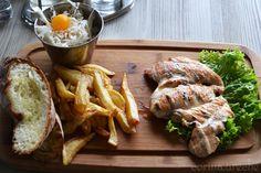 Piept de pui Hanul Berarilor Shrimp, Meat, Food, Essen, Yemek, Meals