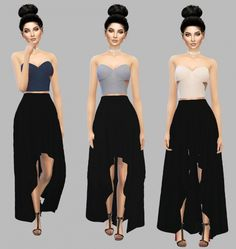 Em crop top at simply simming T Shirt Crop Top, Crop Top Dress, Crop Tops, Sims 4 Teen, Sims Cc, Teen Girl Outfits, Outfits For Teens, Sims 4 Dresses, Short Dresses