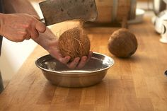 How to Prepare Fresh Coconut - David Lebovitz