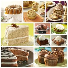 Fall Cake Recipes from Taste of Home
