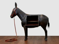 François-Xavier Lalanne - Pompadour Donkey (Ane de Natalie) | From a unique collection of figurative sculptures at http://www.1stdibs.com/art/sculptures/figurative-sculptures/