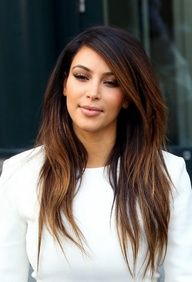 kim with highlights