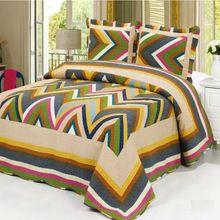 Hombre Summer acolchado cubren conjuntos, tamaño 230 x 250 Summer acolchado sábana 3 unid establecidos en una bolsa, 100% algodón acolchado colchas Queen Size(China (Mainland))