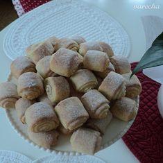 Škoricové minirolky z tvarohového cesta (fotorecept) - recept | Varecha.sk Czech Recipes, Ale, Bread, Cookies, Baking, Mini, Food, Hampers, Crack Crackers
