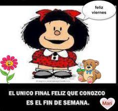 Mafalda siempre practica y directa !!!!